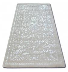 Ковер Лущув Manyas 80x150 см белый прямоугольный (AT1885)