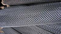 Сетка «Рабица» оцинкованная 25х25х1,6 h=1,5м рулон 10м доставка цена