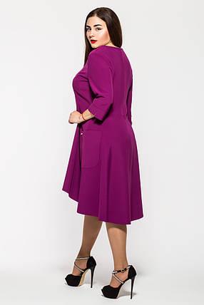 Платье   Милана сирень Размеры 50, 52, 54, 58. , фото 2