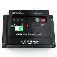 Контроллер заряда PWM 10 А 12 вольт