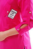 Рубашка женская Стиль малина Размеры 48, 52 , фото 3