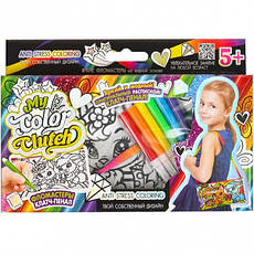 Пенал-раскраска фломастерами «My color clutch» CCL-02–01–06, фото 2