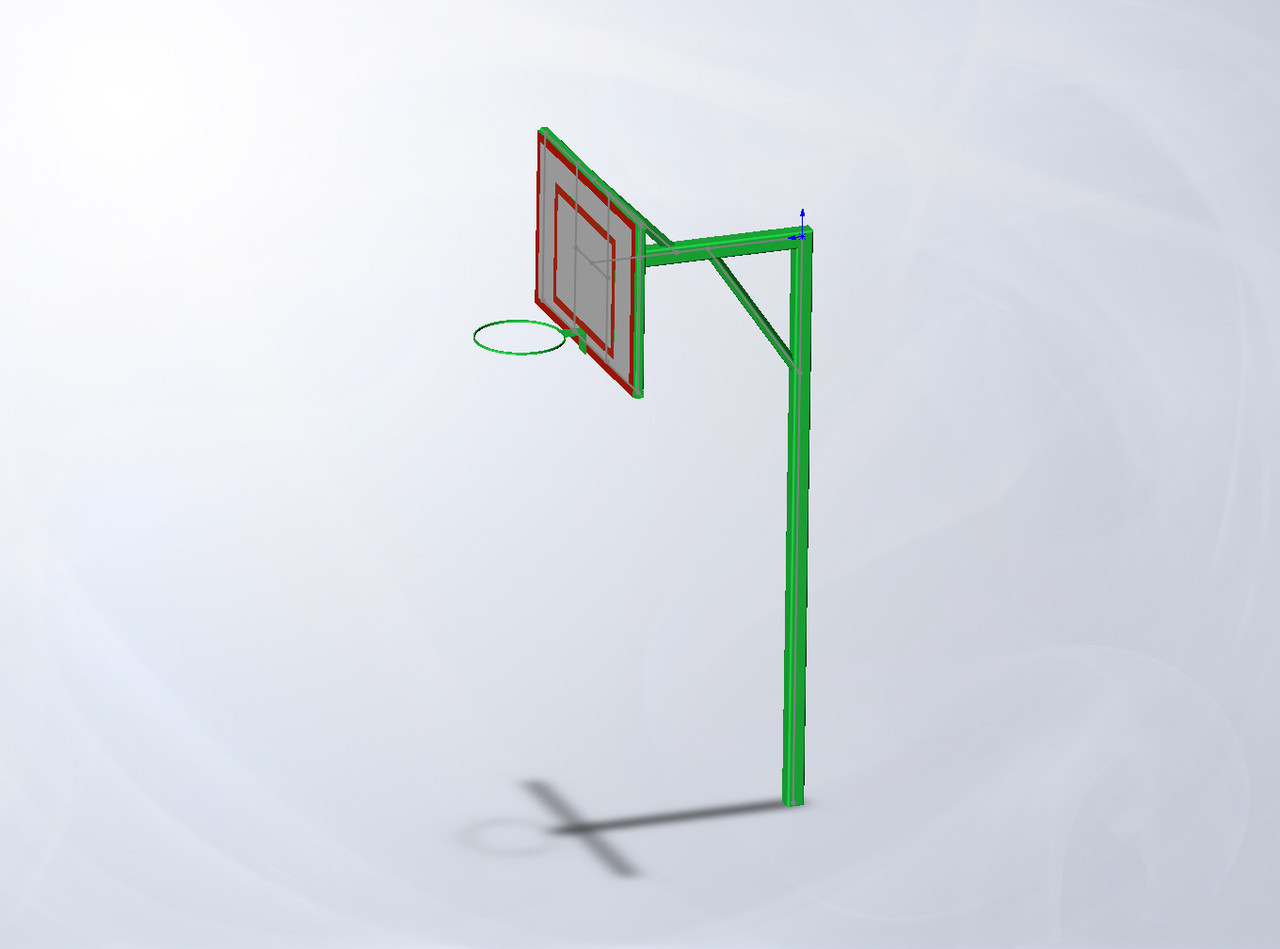 Стойка баскетбольная со щитом Dali