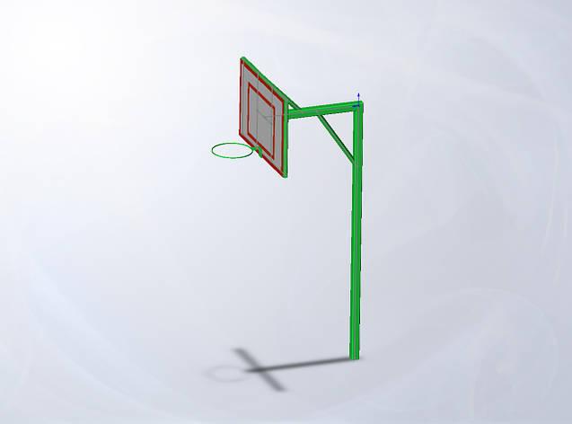 Стойка баскетбольная со щитом Dali, фото 2