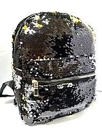 Рюкзак KIDIS 13613-13618 2-хстор. пайетки, фото 1