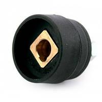 Разъем для сварочного аппарата 10-25 мм². Внутренний диаметр 9мм