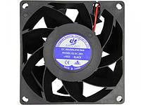 Вентилятор для сварочного аппарата XNF 8038 24V DC (80х80х38 мм/ 0.43А Turbo) , фото 1