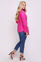 Блуза женская Агата малина, фото 2