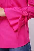 Блуза женская Агата малина, фото 3