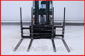 Двухпаллетные вила Kaup 2T429, 2011р., 3А, 2500 кг вантажопідйомність, вила 1200 мм!