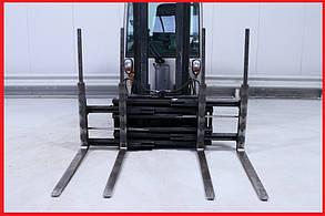 Двухпаллетные вилы Kaup 2T429, 2011г., 3А, 2500 кг грузоподъемность, вилы 1200 мм!
