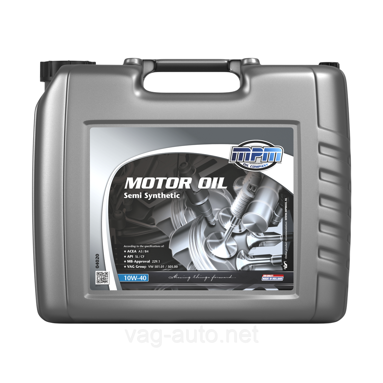 Моторне мастило MPM Motoroil 10W-40 Semi Synthetic 20L