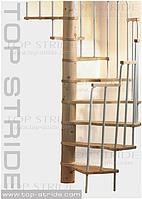 Спиральная лестница MERCURE хвоя
