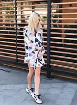 """Короткое летнее платье """"Nicole"""" с оголенными плечами , фото 3"""