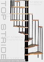 Спиральная лестница MERCURE бук