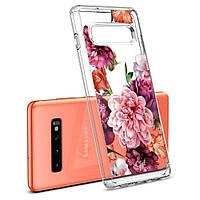 Чохол Spigen для Samsung Galaxy S10 plus Ciel by CYRILL, Rose Floral (606CS25788)