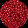 Шарики сахарные красные 4 мм, 200 грамм