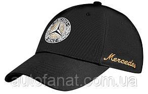 Оригинальная женская бейсболка Mercedes-Benz Women's cap with Swarovski, Classic, Black (B66041517)