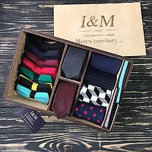 Подарочный бокс I&M Craft Men's territory 17 аксессуаров для мужчин (120102)