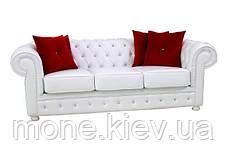 Кожаный трехместный диван Честер, фото 2
