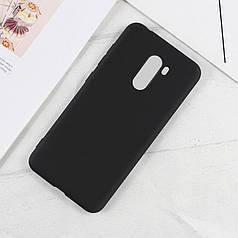 Чехол Style для Xiaomi pocophone F1 Бампер силиконовый черный