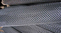 Сетка «Рабица» оцинкованная 50х50х2,0 h=1,5м рулон 10м доставка цена