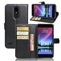 Чехол-книжка Litchie Wallet для LG K10 2017 M250 Черный