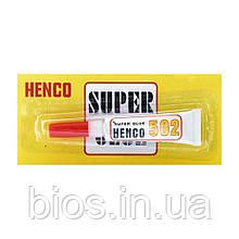 Суперклей HENCO, 3мл