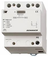 Разрядник для фотовольтаики,класс I+II (B+C) 1000Vdc, 12,5kA Schrack