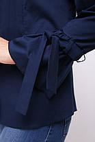 Блуза женская Агата синяя, фото 3