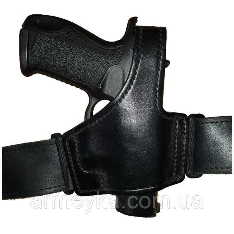 Поясний (полускритие) кобура PWL (Glock, Форт-17), шкіра. Великобританія, оригінал.