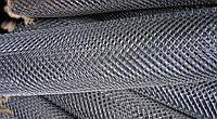 Сетка «Рабица» оцинкованная 50х50х2,5 h=2,0м рулон 10м доставка цена