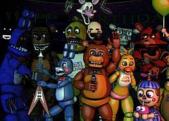 Картина GeekLand Five Nights at Freddys Пять Ночей с Фредди постер 60х40 FN 09.001