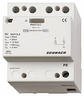Разрядник для фотовольтаики, класс I+II (B+C) 550Vdc, 12,5kA Schrack