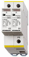 Разрядник для фотовольтаики, класс II (C) 550Vdc, 20kA Schrack
