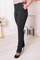 Красивые женские трикотажные брюки с карманами. Размеры 44 - 62