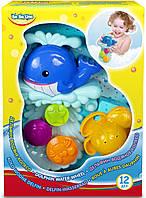 """Игрушка для ванны """"Дельфин"""" - водяная мельница, водяное колесо, водопад BeBelino"""