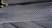 Сетка «Рабица» оцинкованная 50х50х3,0 h=2,0м рулон 10м доставка цена