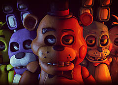 Картина GeekLand Five Nights at Freddys Пять Ночей с Фредди постер 60х40 FN 09.002