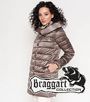 Braggart Angel's Woman 35120   Длинный воздуховик осенне-весенний темная пудра