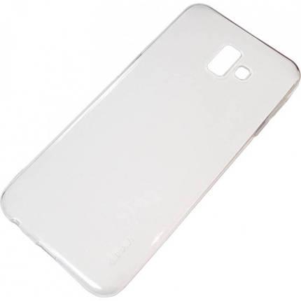 Силикон для Samsung J6+ (J610) White 0.7mm Inavi, фото 2