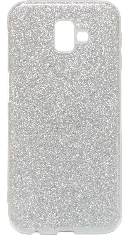 Силиконовый чехол для Samsung J610 J6+ Glitter
