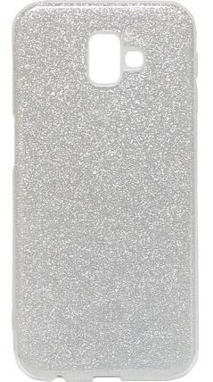 Силиконовый чехол для Samsung J610 J6+ Glitter, фото 2