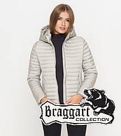 Braggart Youth | Женская куртка осенняя 1862 светло-серая
