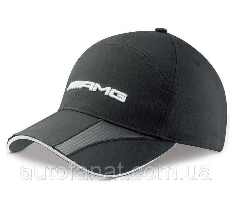 Оригинальная мужская бейсболка Mercedes-Benz Men's cap, AMG, Carbon fibre-look details (B66952706)