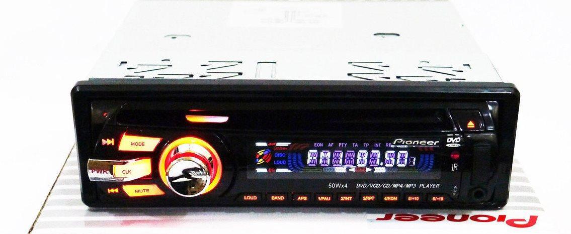 Автомагнітола Pioneer 3201 DVD USB+Sd+MMC знімна панель