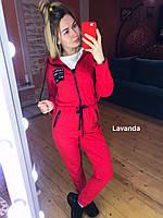 Женский спортивный комбинезон с капюшоном , фото 1