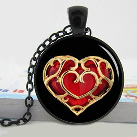 Кулон Пламенное Сердце