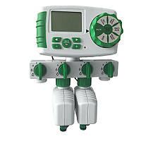 Aqualin 21060 цифровой таймер полива на 4 линии и 4 дневных цикла