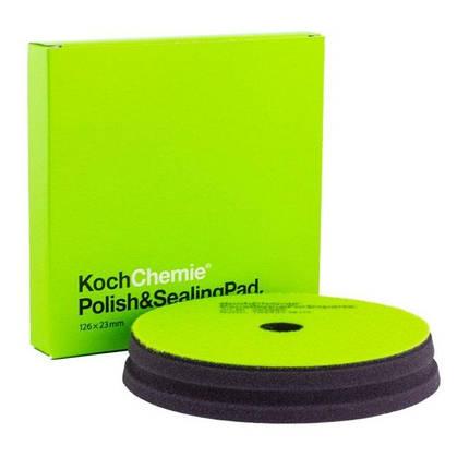 Мягкий полировальный круг - Koch Chemie Polish & Sealing Pad 126 мм. (999586), фото 2